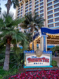 Disney paradis Pier Hotel Arkivfoto