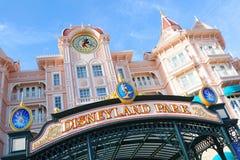 Disney Parijs Stock Afbeelding