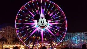 Disney pariserhjul Royaltyfri Fotografi