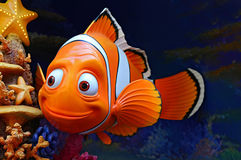 Disney pixar finding nemo character. Marlin the famous character from disney pixar movie, finding nemo royalty free stock photo