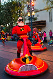 Disney Pixar Parade California Adventure Stock Image