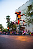 Disney Pixar Parade California Adventure Royalty Free Stock Photo