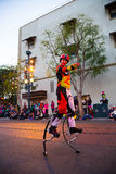 Disney Pixar Parade California Adventure Royalty Free Stock Photography