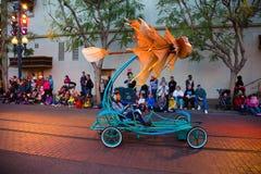 Disney Pixar Parade California Adventure Stock Images