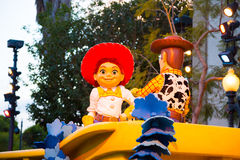 Disney Pixar Parade California Adventure Stock Photography