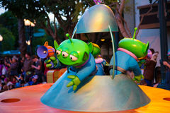 Disney Pixar Parade California Adventure Royalty Free Stock Images