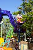 Disney Pixar Parade - The Incredibles Baby. The Incredibles in the Disney Pixar California Adventure parade at Disneyland in Anaheim Stock Image