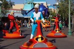 Disney Pixar ståtar - Toy Story arkivbild