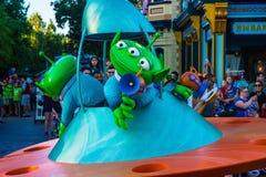 Disney Pixar Toy Story Parade de estrangeiros verdes Imagens de Stock Royalty Free