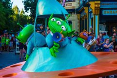 Disney Pixar Toy Story Parade of Green Aliens Royalty Free Stock Images