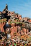 Disney pluśnięcia góry Światowa kolejka górska Zdjęcia Royalty Free