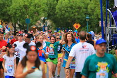 Disney running race Royalty Free Stock Image