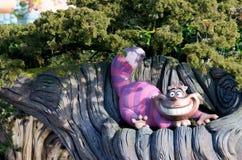 Disney's Chesire Cat stock photos