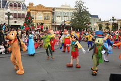 Disney's Christmas Parade Royalty Free Stock Photos