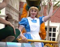 Disney's Cinderella Character At Disney World Royalty Free Stock Photography