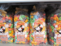 Disney´s main street popcorn bag Royalty Free Stock Images
