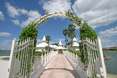 Disney's Wedding Pavilion Stock Images