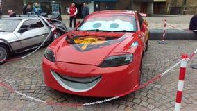 Disney samochody w Blackpool Fotografia Royalty Free