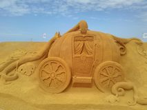 Disney sand magiska Ostende - haveri royaltyfria foton