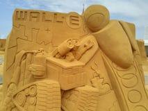 Disney sand magiska Ostende - haveri arkivbild