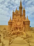 Disney sand magiska Ostende - haveri royaltyfri fotografi
