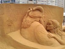Disney sand magiska Ostende - haveri fotografering för bildbyråer