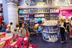 Disney shop - Paris Stock Photos