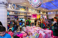 Disney shop - Paris Stock Image