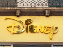 Disney Sign retail store Royalty Free Stock Image