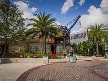 Disney Skacze centrum handlowe hangaru bar obrazy royalty free