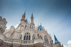 Disney slott Royaltyfria Bilder