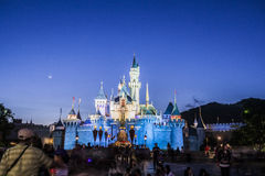 Disney slott Royaltyfri Fotografi