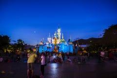 Disney slott Royaltyfri Foto