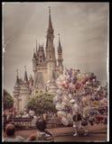 Disney slott Arkivbilder
