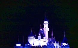 Disney slott arkivbild