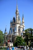 Disney slott på Tokyo Disneyland royaltyfri foto