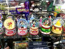 Disney Snow Globes Royalty Free Stock Photography