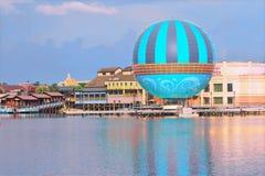 Disney Springs Lake view, Air Ballon , Orlando, Florida