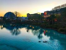 Disney Springs, Orlando, Florida. Beautiful Disney Springs in Orlando, Florida Stock Images