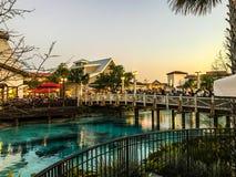 Disney Springs, Orlando, Florida. Beautiful Disney Springs in Orlando, Florida Royalty Free Stock Images