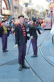 Disney ståtar - lampglassvepen Arkivfoto