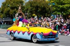 Disney Stars desfile de los coches de ?n? Imagen de archivo libre de regalías