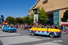 Disney Stars desfile de los coches de ?n? Foto de archivo libre de regalías