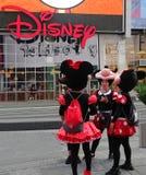 Disney stockent avec des caractères de Minnie Mouse images libres de droits