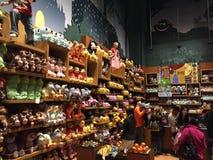 Disney stockent parfois la place à New York Images libres de droits