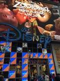 Disney stockent parfois la place à New York Photographie stock libre de droits