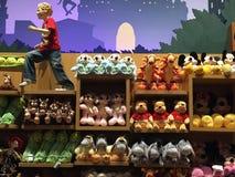 Disney stockent parfois la place à New York Photo libre de droits