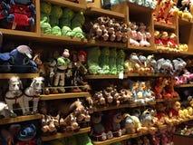 Disney stockent parfois la place à New York Images stock