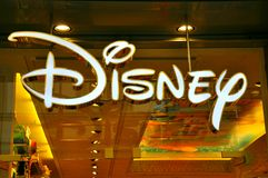 Disney store logo Royalty Free Stock Photos