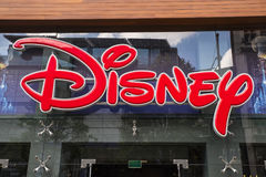 Disney Store in London Stock Photography